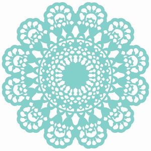 Free images at clker. Lace clipart doily