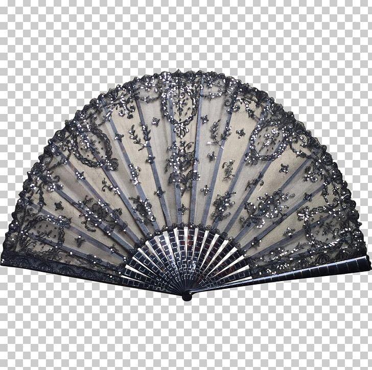 Hand victorian era tulle. Lace clipart fan