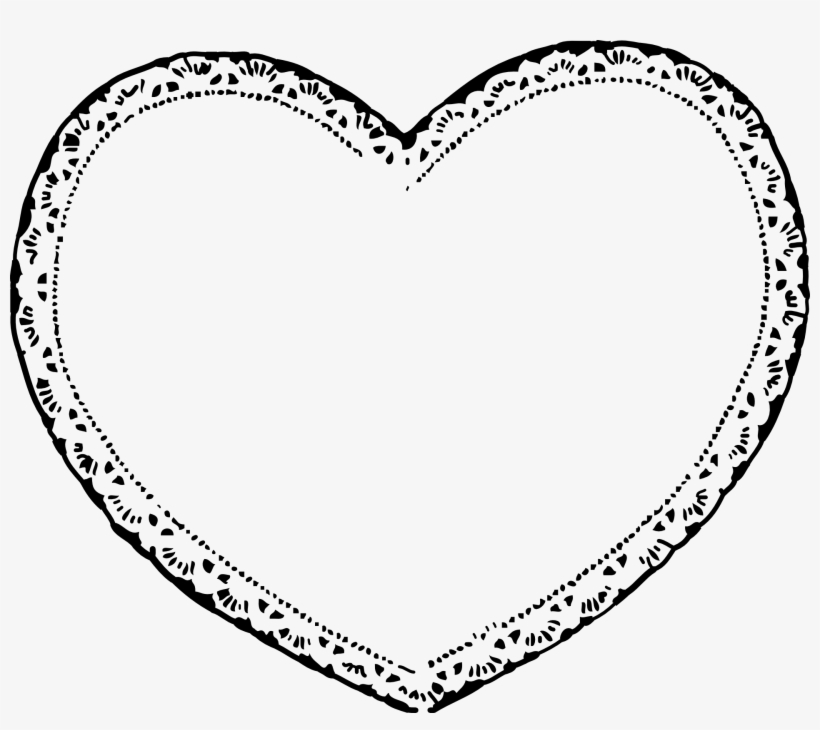 Lace clipart heart shaped. Laces free