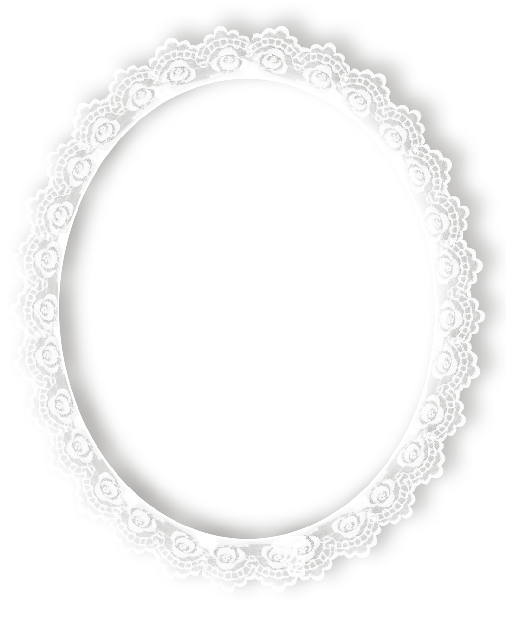 Best photos of transparent. Lace clipart oval