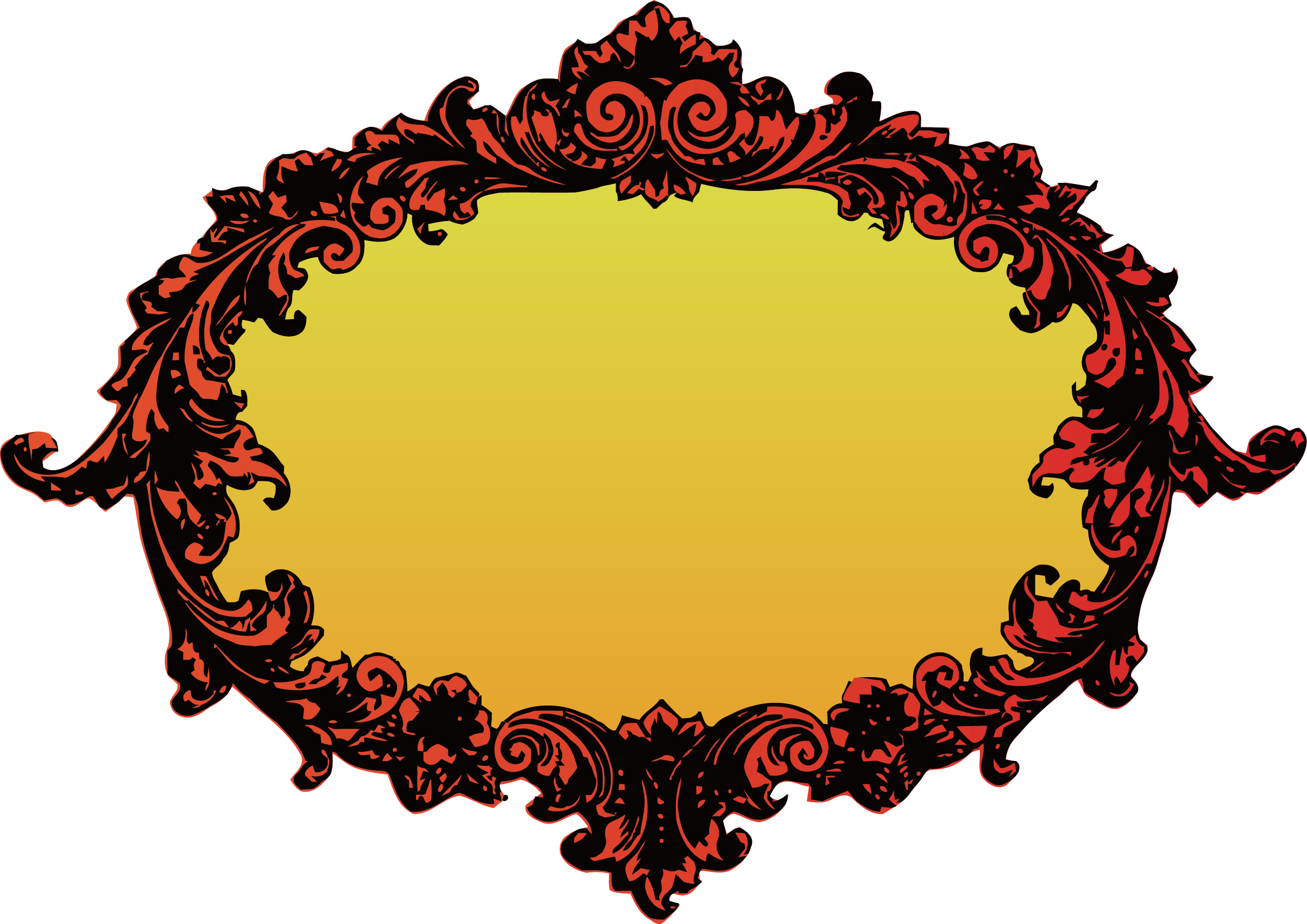 Oval clipart lace. Borders and frames picture
