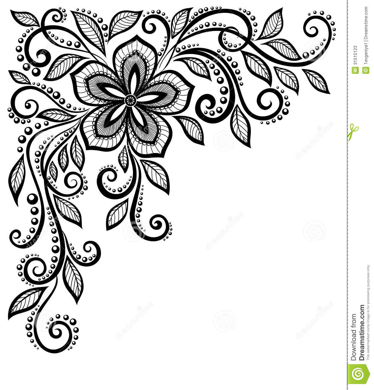 Free download best on. Lace clipart paisley border