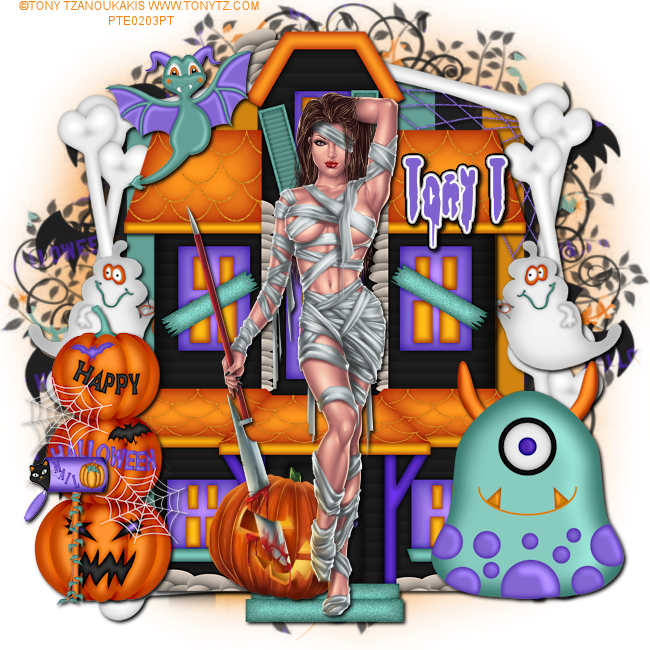 Leather and tuts tony. Lace clipart pumpkin