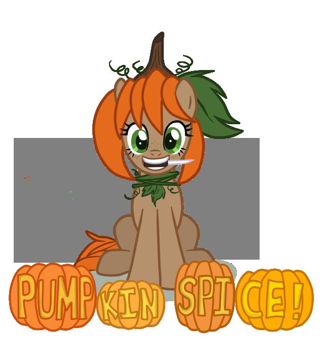 Oc spice by mangaka. Lace clipart pumpkin