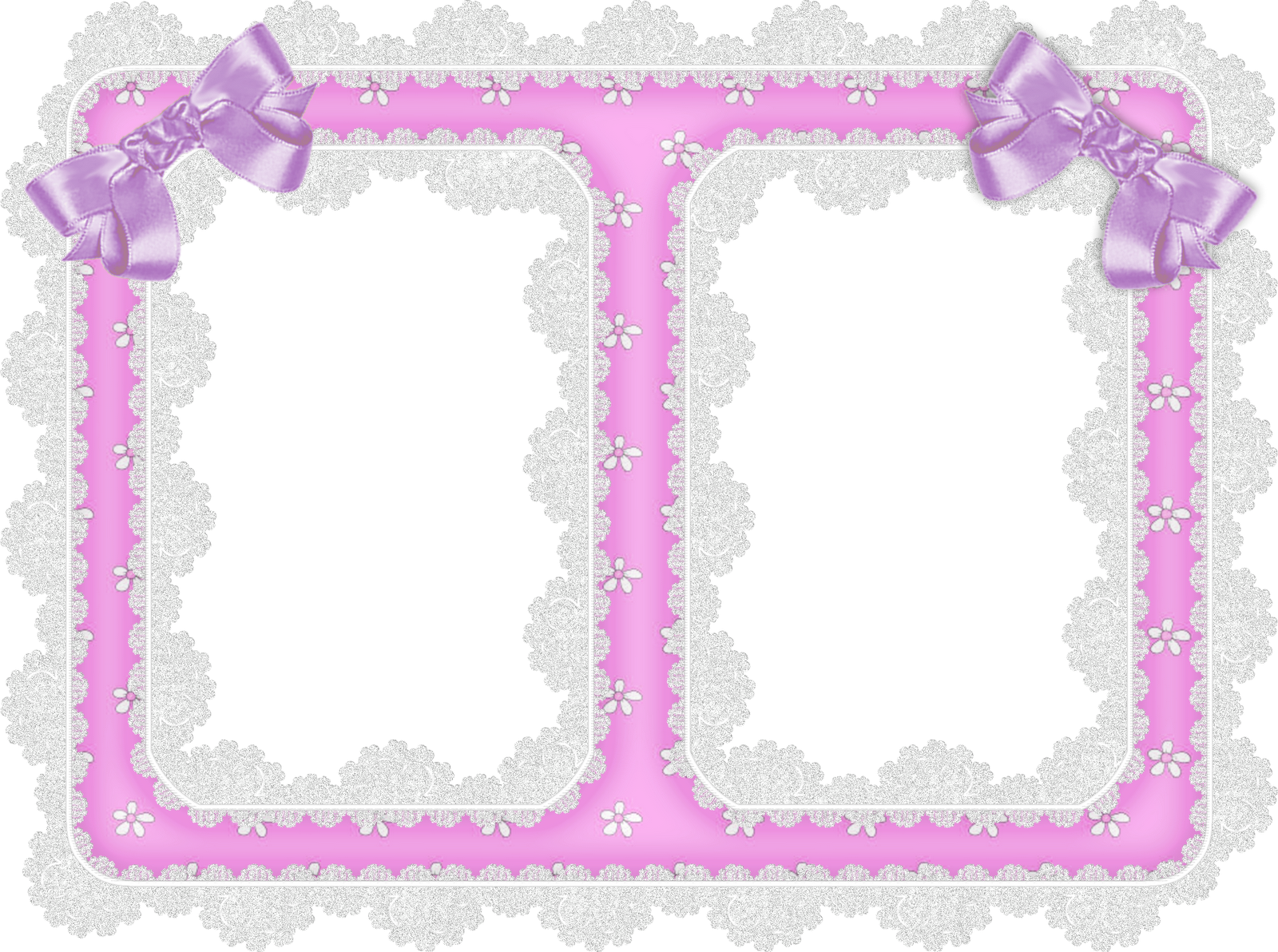 Lace clipart rectangle. White and purple ribbon
