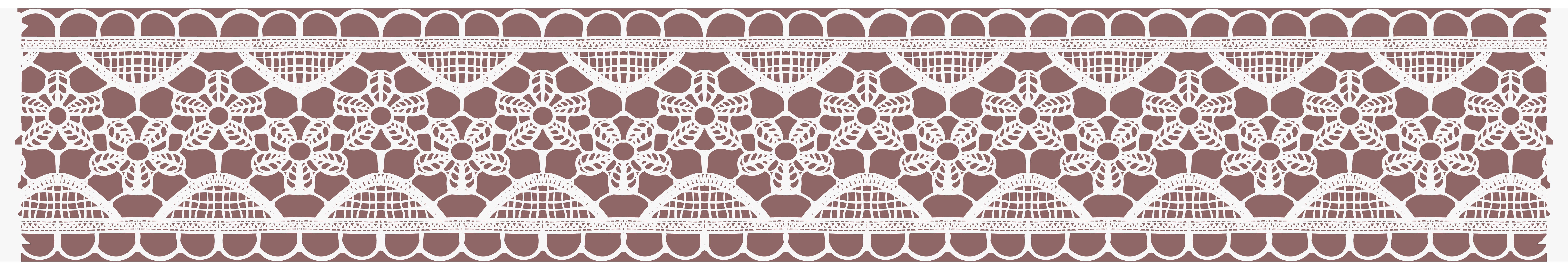 lace clipart silver lace