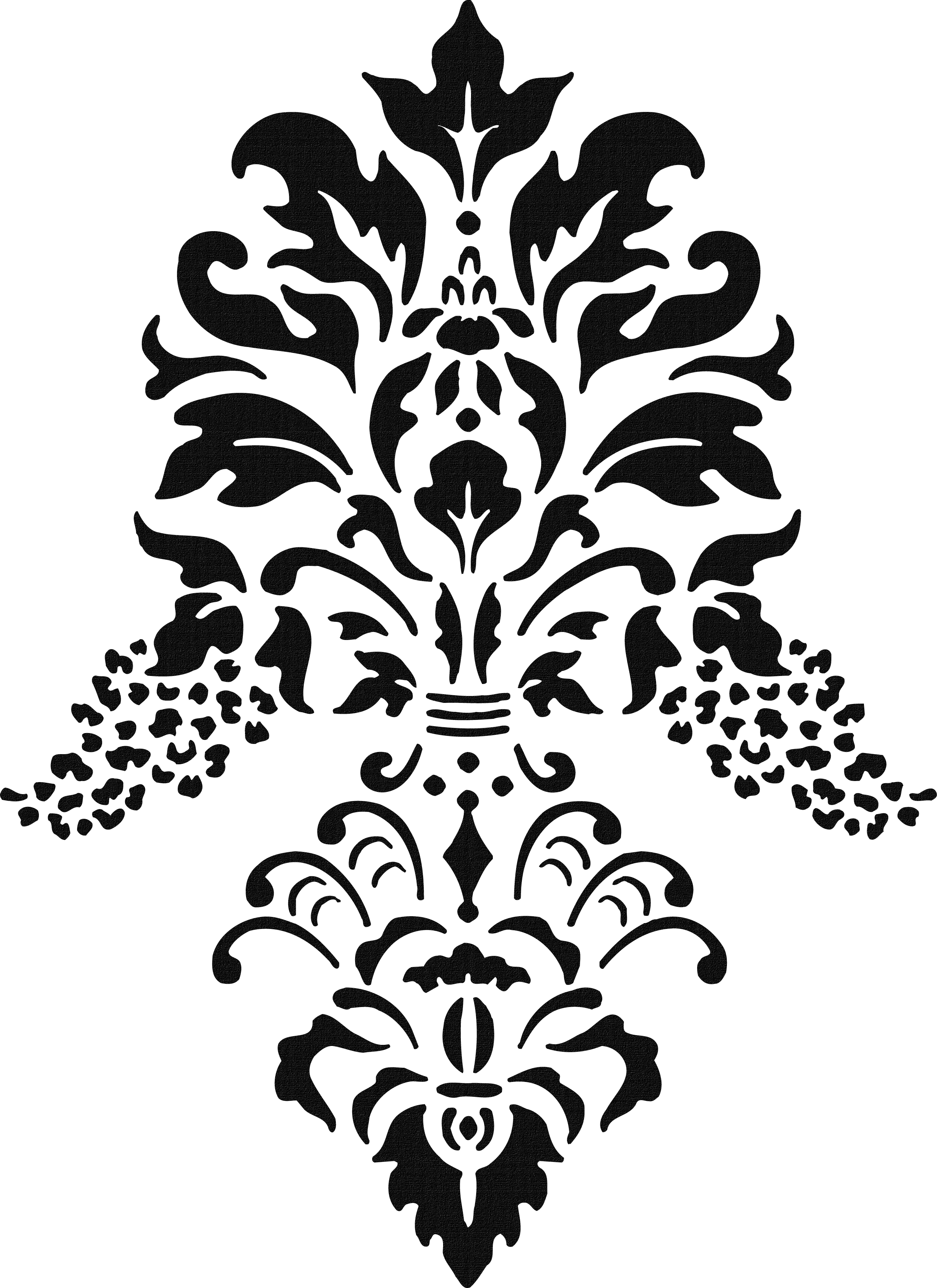 Lace stencil. Clipart transparent free for