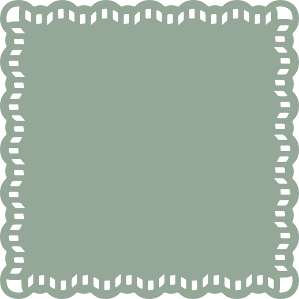 Trimmed clip art at. Square clipart lace