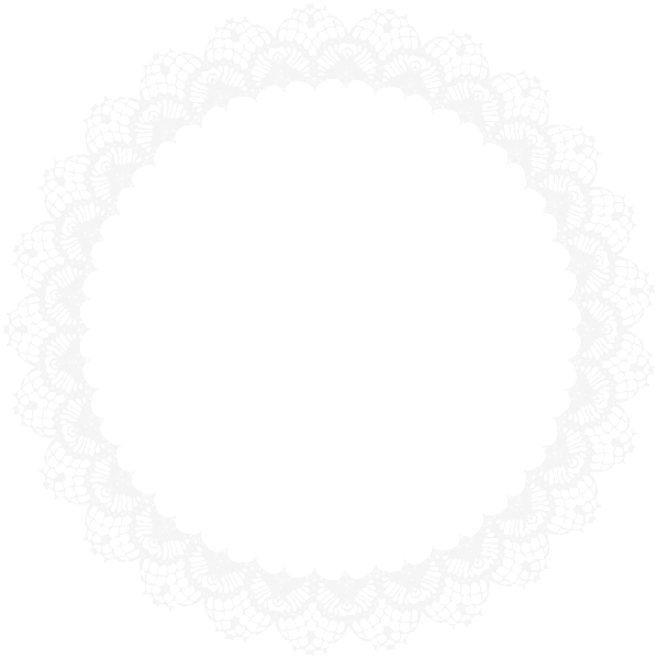 Lace clipart vintage lace. Circle round white whitelace