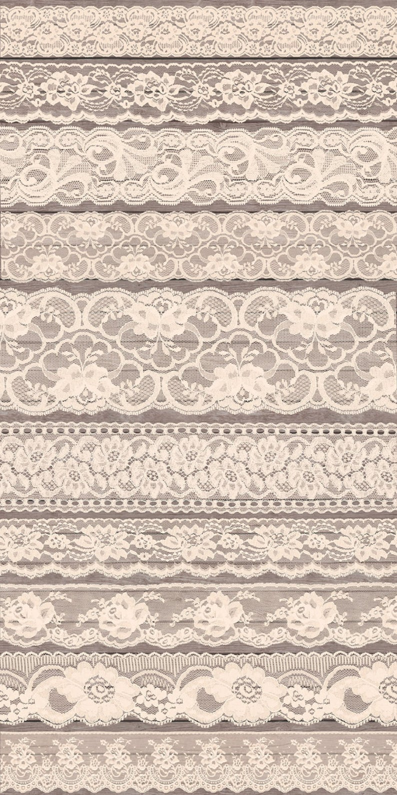 Ivory shabby chic clip. Lace clipart vintage lace