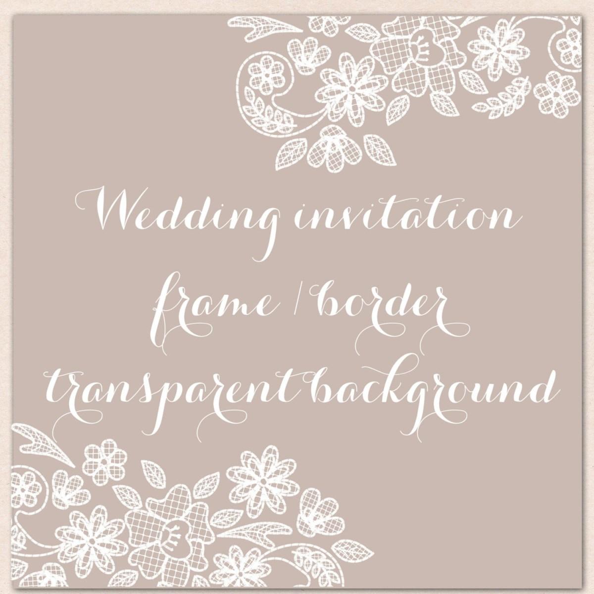 Vintage invitations border . Lace clipart wedding invitation lace