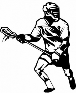 Player drawing at getdrawings. Lacrosse clipart