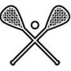 images about on. Lacrosse clipart black and white