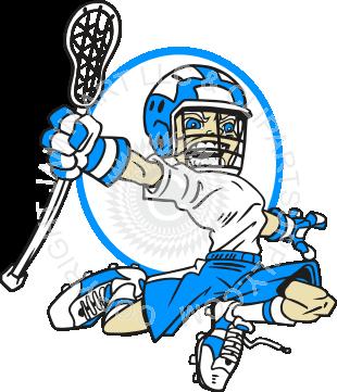 Lacrosse clipart boys lacrosse. Boy player bending in