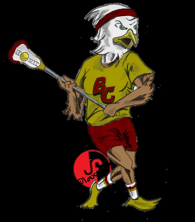 laxcots by jim. Lacrosse clipart stick figure