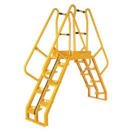 Cross over x . Ladder clipart 8 step
