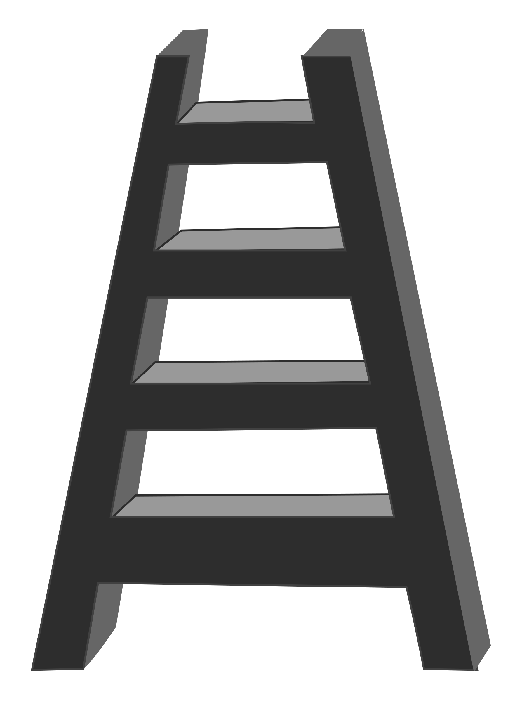 Ladder clipart bamboo ladder. Ladders png wooden rust