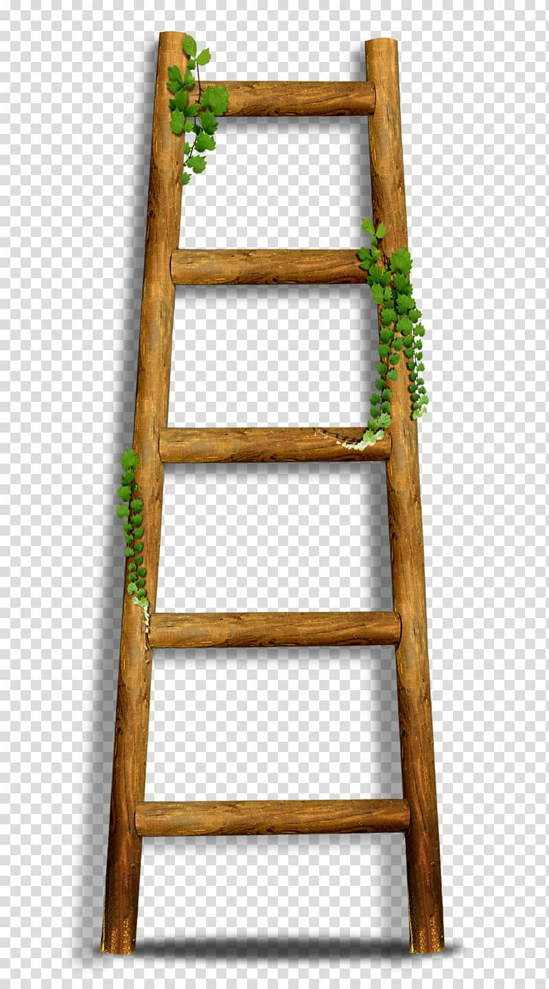 Brown stairs icon transparent. Ladder clipart bamboo ladder
