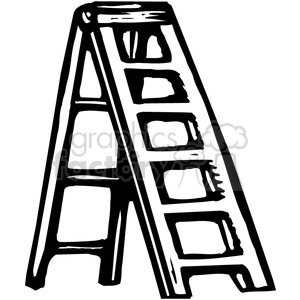 Ladder clipart black and white. Royalty free