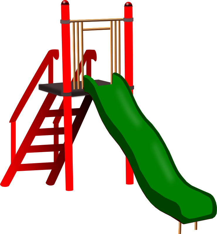 Learning fun for the. Ladder clipart chute