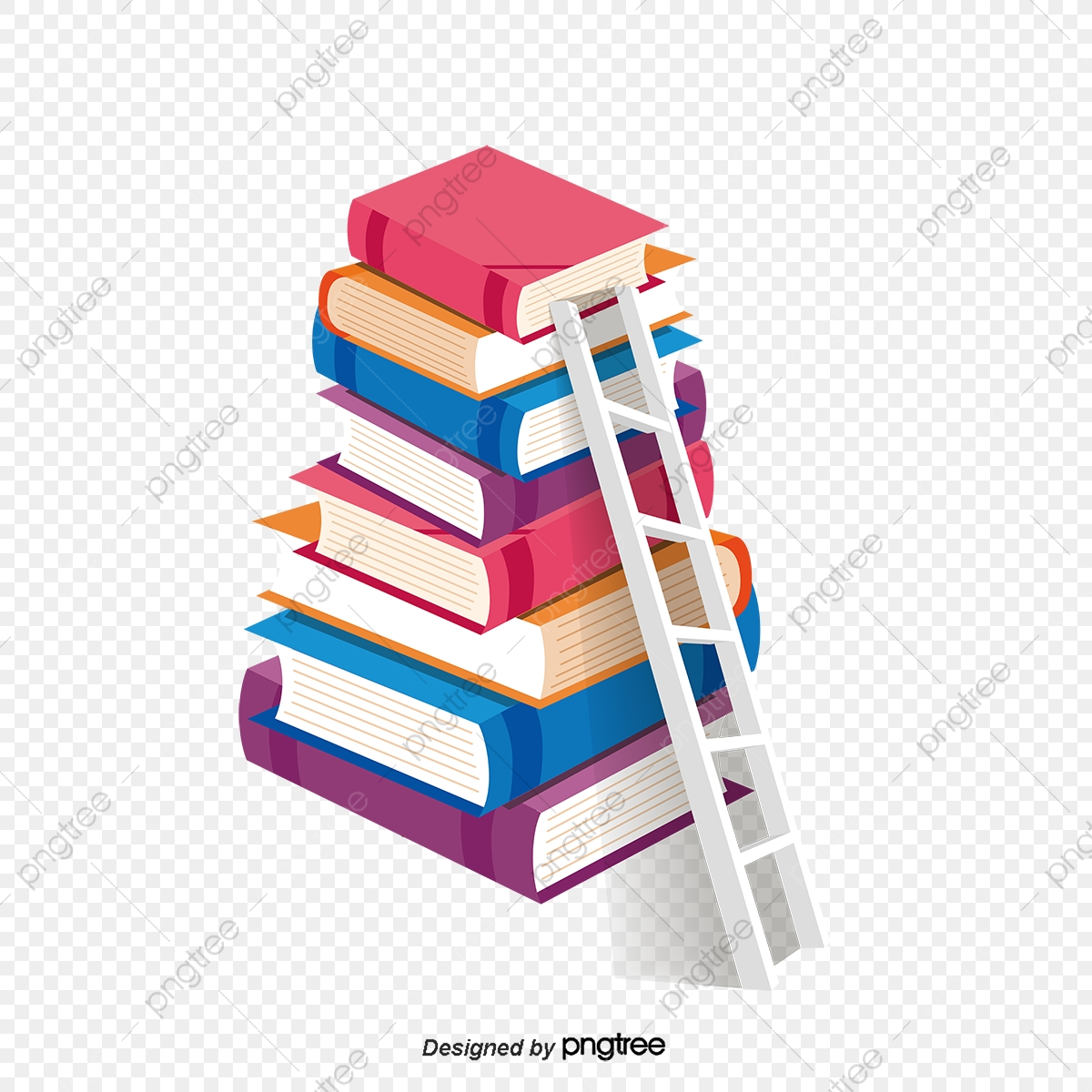 Continental creative educational learning. Ladder clipart education
