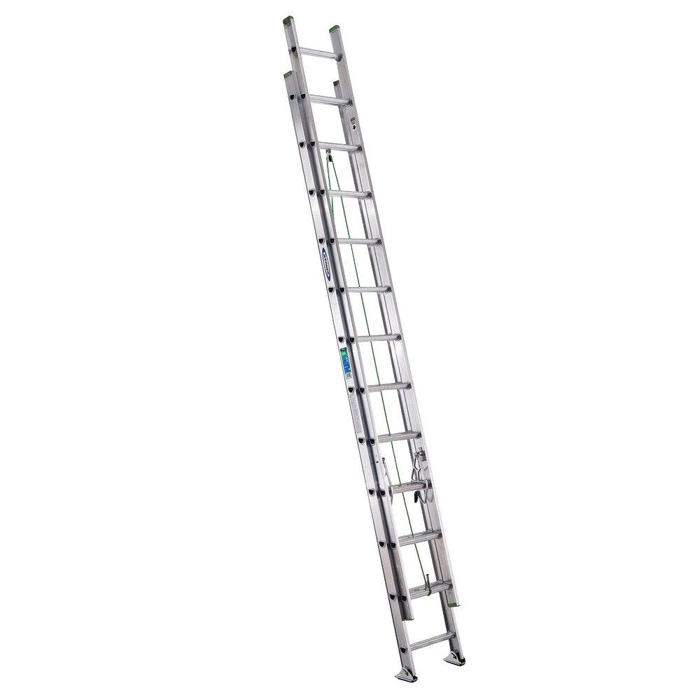Ladder clipart extension ladder. Werner ft aluminum with