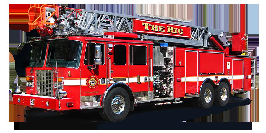Ladder clipart fire ladder. Kme aerialcattm rearmount the