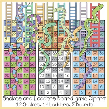 Ladder clipart fun. Snakes and ladders