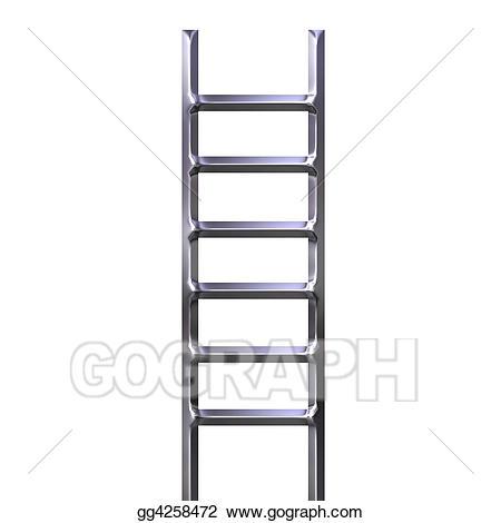 Ladder clipart iron. Stock illustration gg gograph