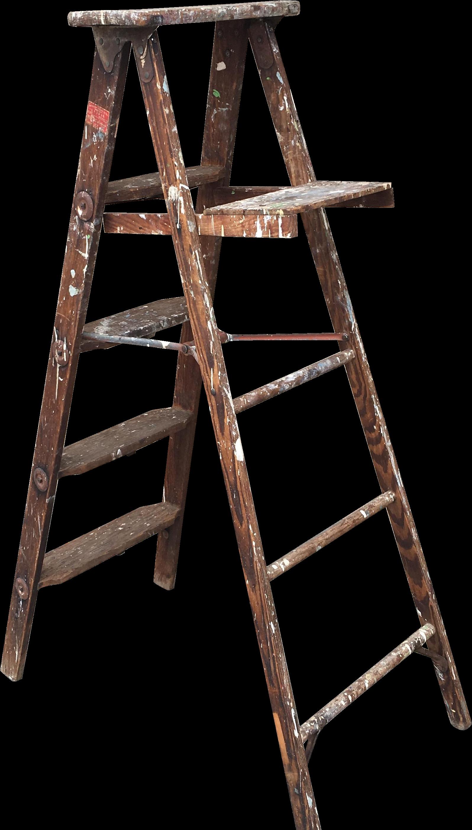 ladder clipart iron