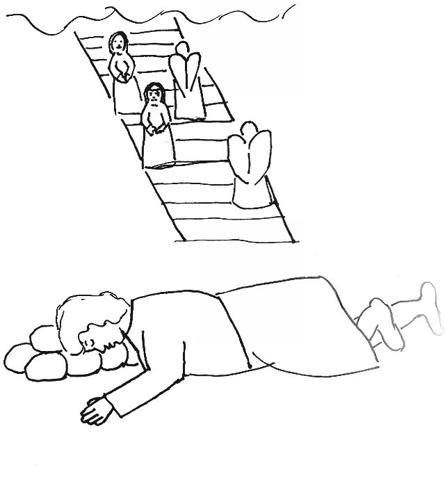 Ladder clipart jacobs ladder. Download colouring page jacob