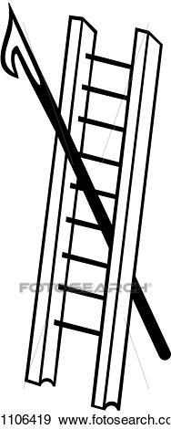 Portal . Ladder clipart pike pole