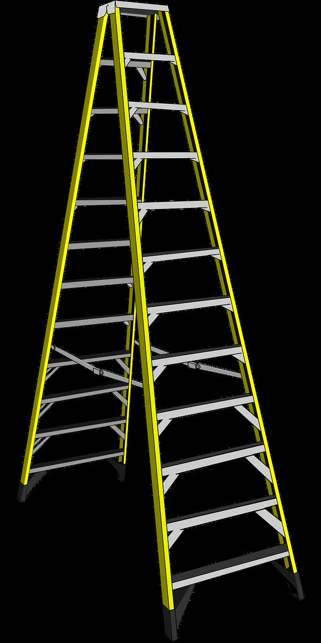 Ladder clipart purple. Safety zero exposure solutions