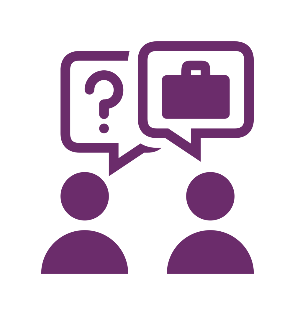 Hughes recruitment inc partnering. Ladder clipart purple