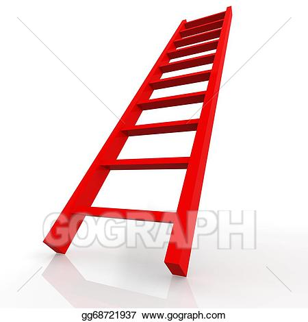 Ladder clipart red. Drawing gg gograph