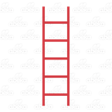 Ladder clipart red. Blend empty