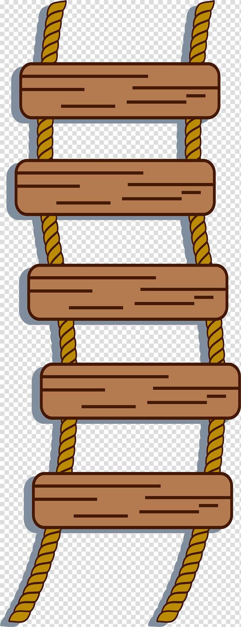 Ladder clipart rope ladder. Transparent background png cliparts