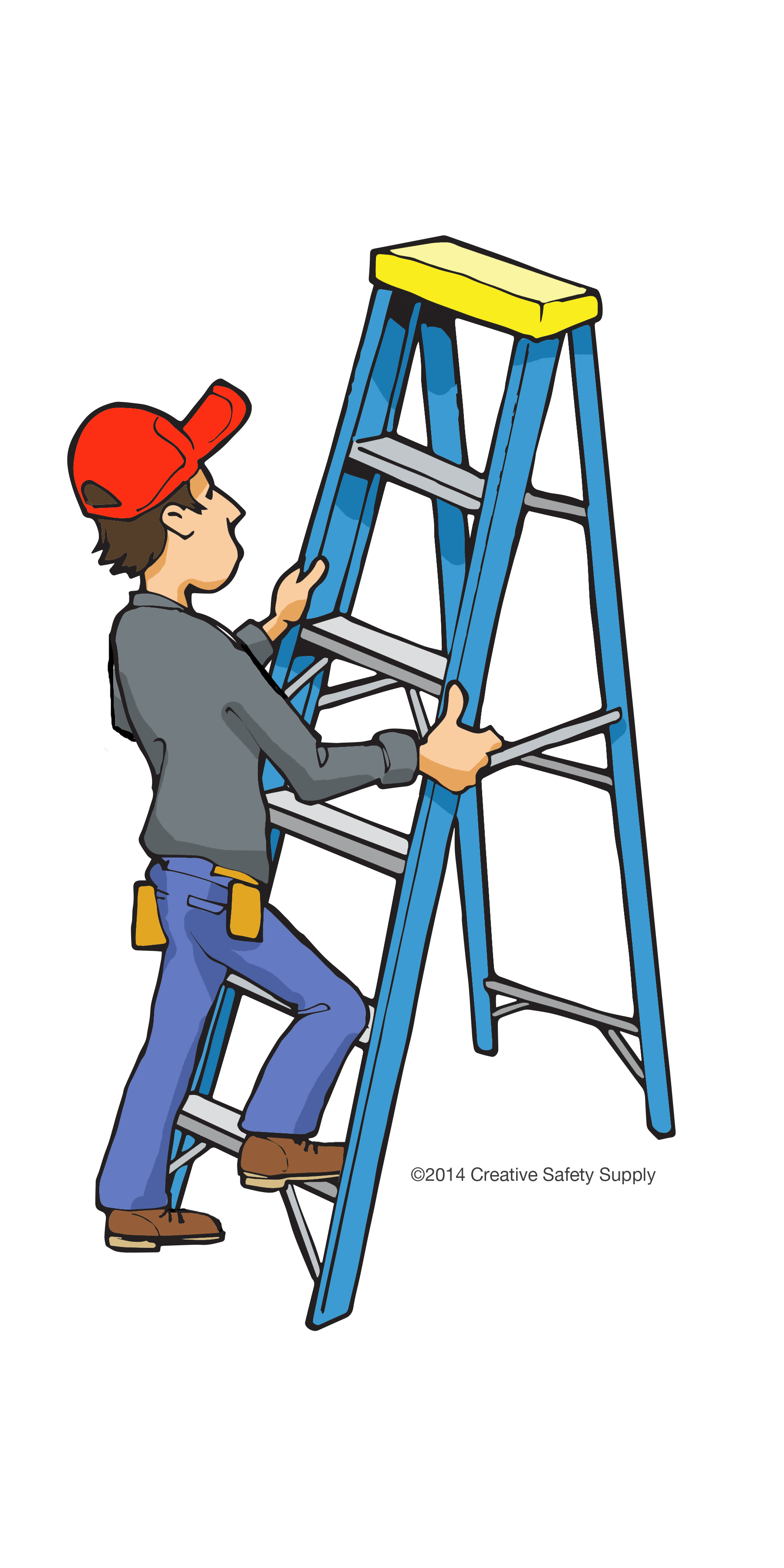 Ladder clipart safety. Image gallery images martine