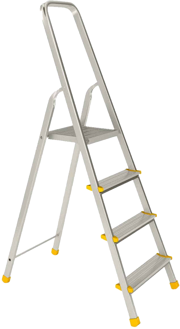 Staircase clipart 4 step ladder. Transparent png image web