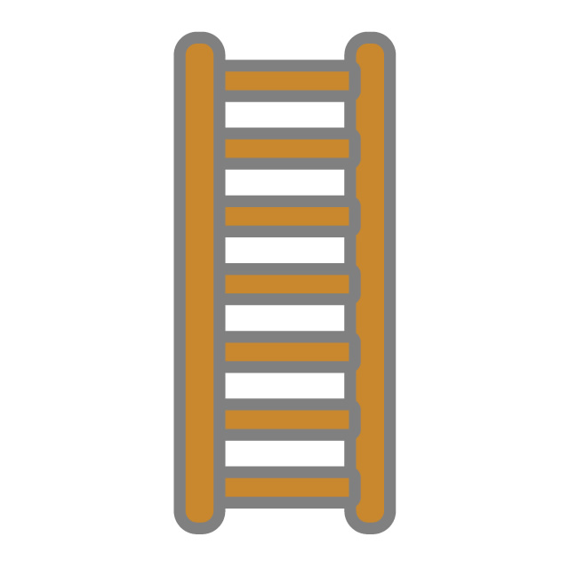 Ladder clipart simple. Free icon clip art