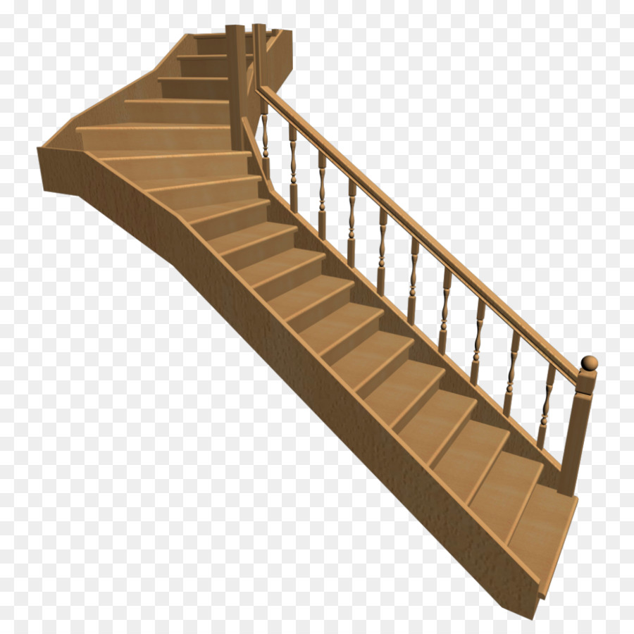 Cartoon wood stairs transparent. Ladder clipart staircase