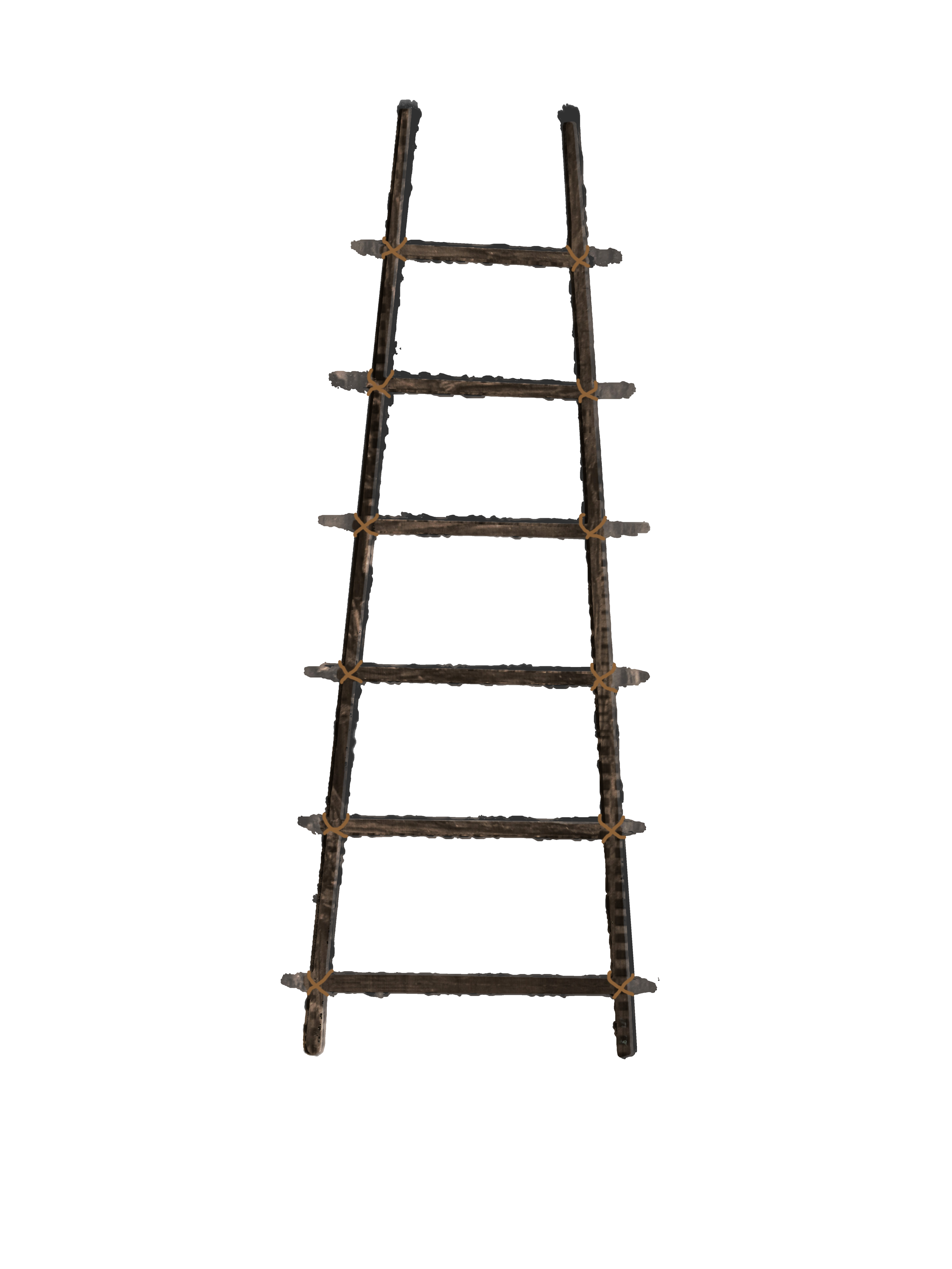 Ladder clipart tall ladder. Wooden with elegant gallery