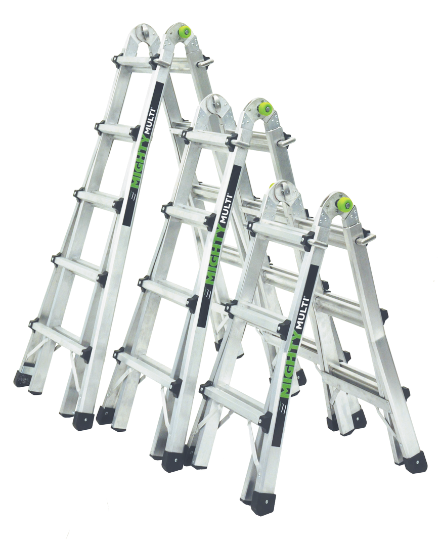 Ladder clipart tall ladder.  mighty multi ladders