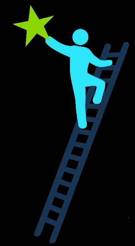 Motivation clipart ladder. Climbing png