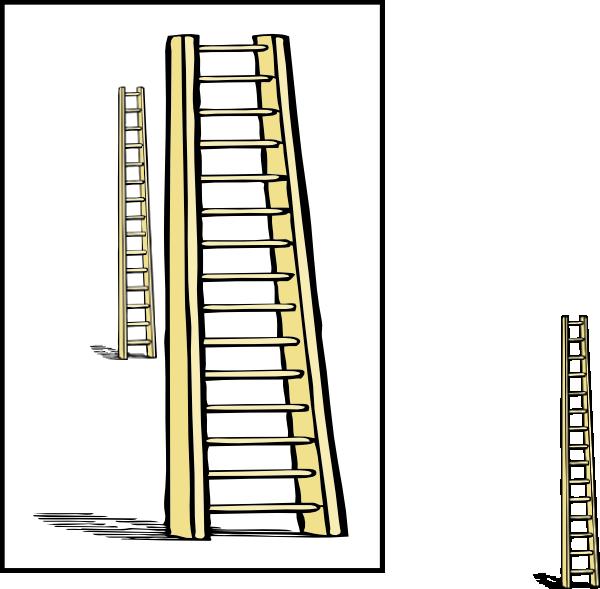 Ladder clipart tall ladder. Enlarge clip art at