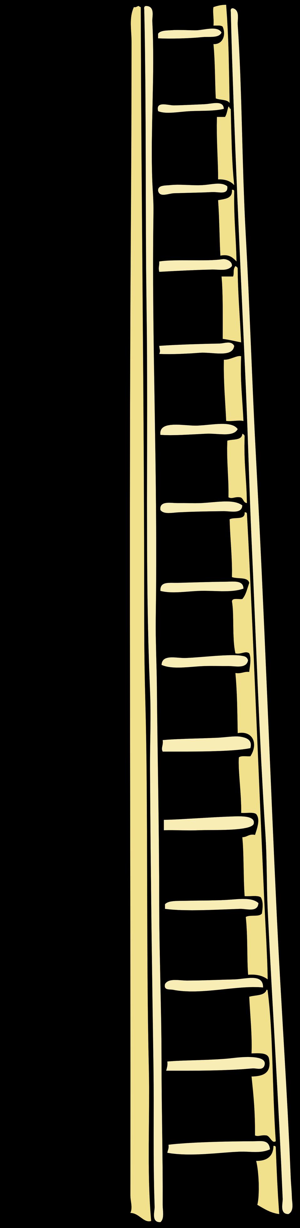 Public domain clip art. Ladder clipart tall ladder