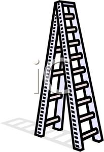 A ladder picture . Tall clipart tall object