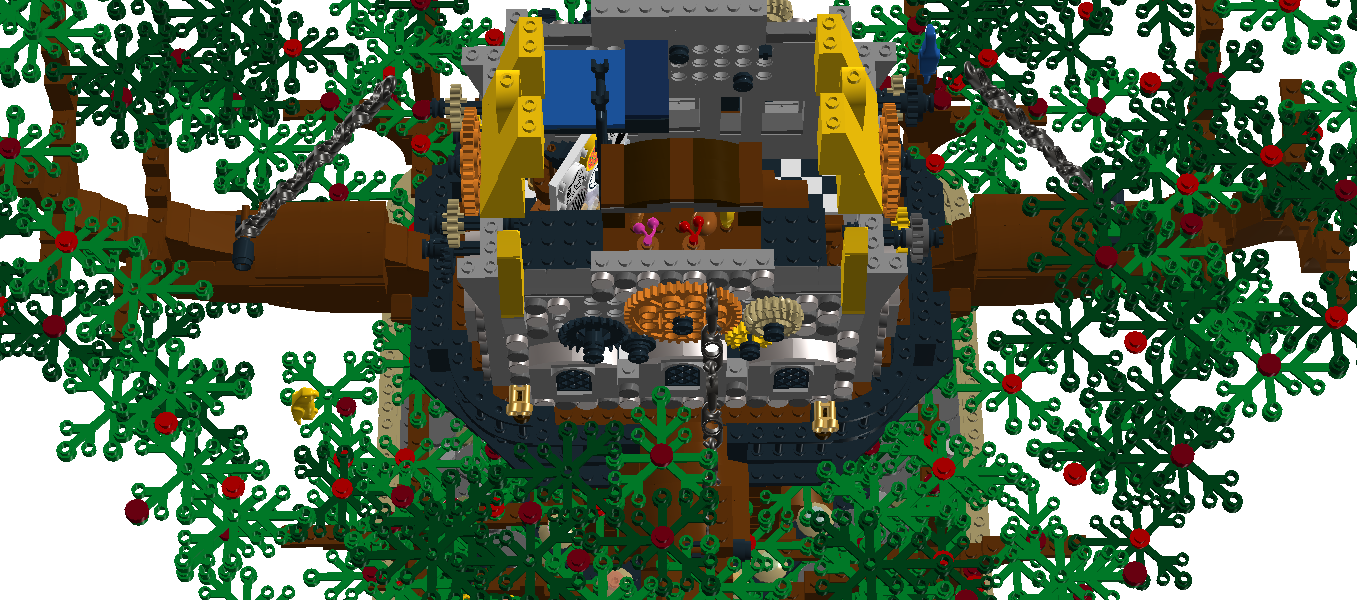 Ladder clipart tree fort. Lego ideas product steampunk