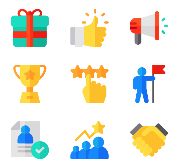 Staircase clipart employee promotion. Ladder icons free vector