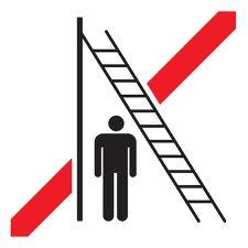 Ladder clipart walk under ladder. Walking a clip art